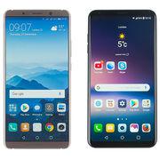 Smartphones haut de gammeHuawei face à LG