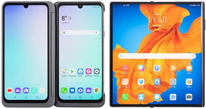visuel1 LG G8X ThinQ Huawei Mate Xs 5G