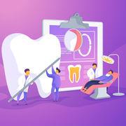 Soins dentaires (infographie) - Vous et vos dents