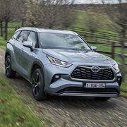Toyota Highlander HybridePremières impressions
