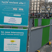 Vélib' La transition déraille