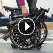 Vélo électrique pliant Brompton (vidéo)Prise en main