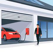 Voiture électriqueUn crédit d'impôt pour l'installation d'un système de charge