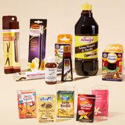 Ingrédients culinaires à la vanille