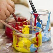 Peintures à l'eau pour enfants