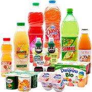 Arômes alimentaires19 yaourts et boissons aux fruits analysés