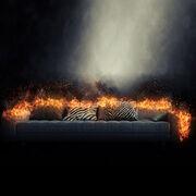 Inflammabilité des canapés