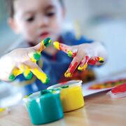Peintures aux doigts pour enfants