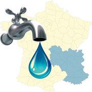 Prix de l'eau dans le Sud-Est (régions Auvergne-Rhône-Alpes et Provence-Alpes-Côte d'Azur)