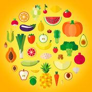 Alimentation - Téléchargez le calendrier des fruits et légumes de saison