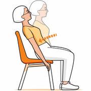 Seniors - 5 exercices à faire sur une chaise