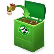 Gestes vertsLa nouvelle jeunesse du compostage
