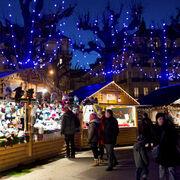 Marchés de NoëlGare aux trompe-l'œil