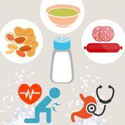 Sel et alimentation (infographie)Les chiffres clés de la consommation de sel