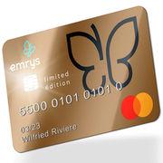 Carte EmrysEmrys veut devenir une néobanque