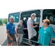 Personnes âgéesDes virées en minibus