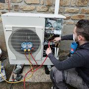 Pompes à chaleur air/eauSatisfaction en demi-teinte