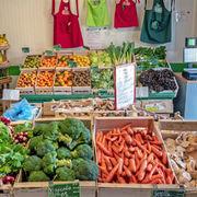 Prix du bioPlus cher chez les spécialisés, sauf pour les fruits et légumes