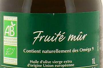 huile fruite mur