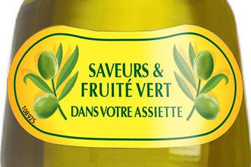 huile fruite vert