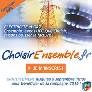 Énergie moins chère ensembleL'UFC-Que Choisir fait baisser les factures de gaz et d'électricité !