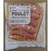 Aiguillette de poulet mariné nature surgelé Leader Price