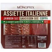Assiette italienne (charcuterie) Monoprix