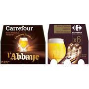 Bière d'Abbaye Carrefour