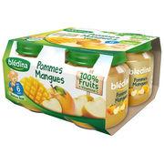 Blédina pots pommes mangues