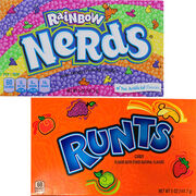 Bonbons Nerds et Runts Normal