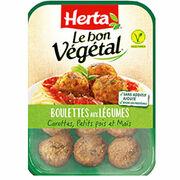 Boulettes aux légumes Herta Le bon végétal