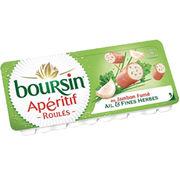 Boursin Roulés au jambon ail et fines herbes