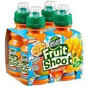 Bouteilles Fruit Shoot de Teisseire