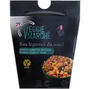 Box veggie falafels légumes du soleil Veggie Marché