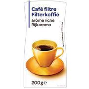 Café filtre arôme riche Carrefour