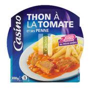Casino Thon à la sauce tomate et ses pennes