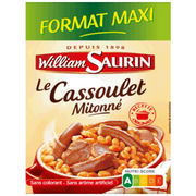 Cassoulet Mitonné William Saurin