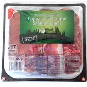 Charcuterie Plateau dégustation Italie Auchan