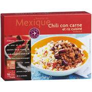 """Chili con carne """"Cuisine Evasion"""" Picard"""