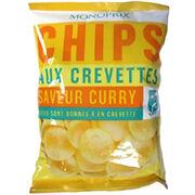 Chips aux crevettes saveur curry Monoprix
