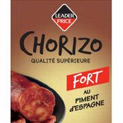 Chorizo au piment d'Espagne Leader Price