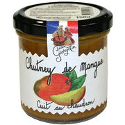 Chutney de mangue cuit au chaudron Lucien Georgelin
