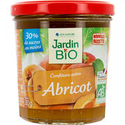 Confiture Extra abricot - Jardin Bio