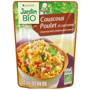 Couscous poulet et curcuma Jardin Bio