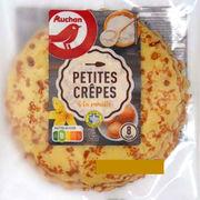 Crêpes moelleuses à la vanille Auchan