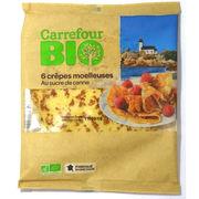 Crêpes moelleuses à la vanille Carrefour Bio