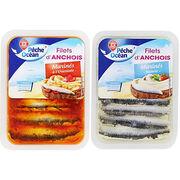 Filets d'anchois marinés Pêche Océan (Marque Repère E. Leclerc)