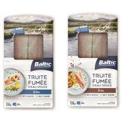 Filets de truite fumée Baltic