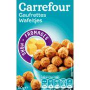 Gaufrettes au fromage Carrefour