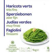 Haricots verts très fins surgelés Carrefour